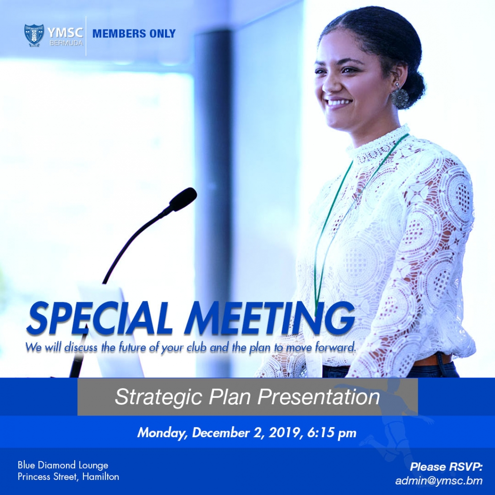 Special Meeting: Strategic Plan Presentation — Dec 2, 6:15 pm
